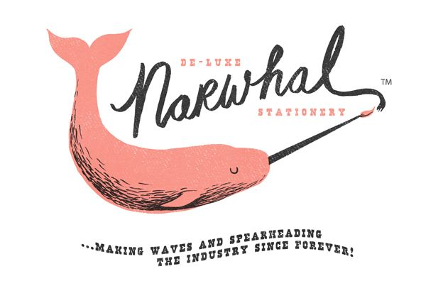 De-Luxe Narwhal — NICHOLAS JOHN FRITH Illustration & Printmaking