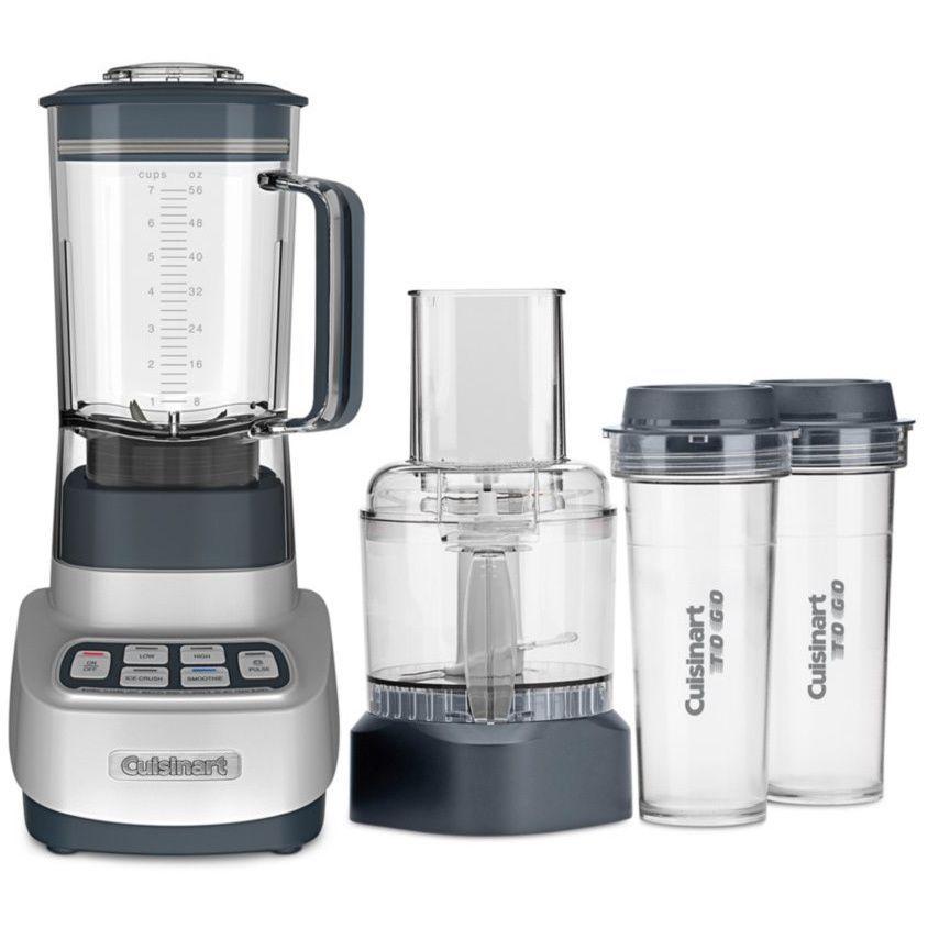 Cuisinart Bfp 650 Blender Food Processor With Travel Cups With Images Blender Food Processor Food Processor Recipes Blender