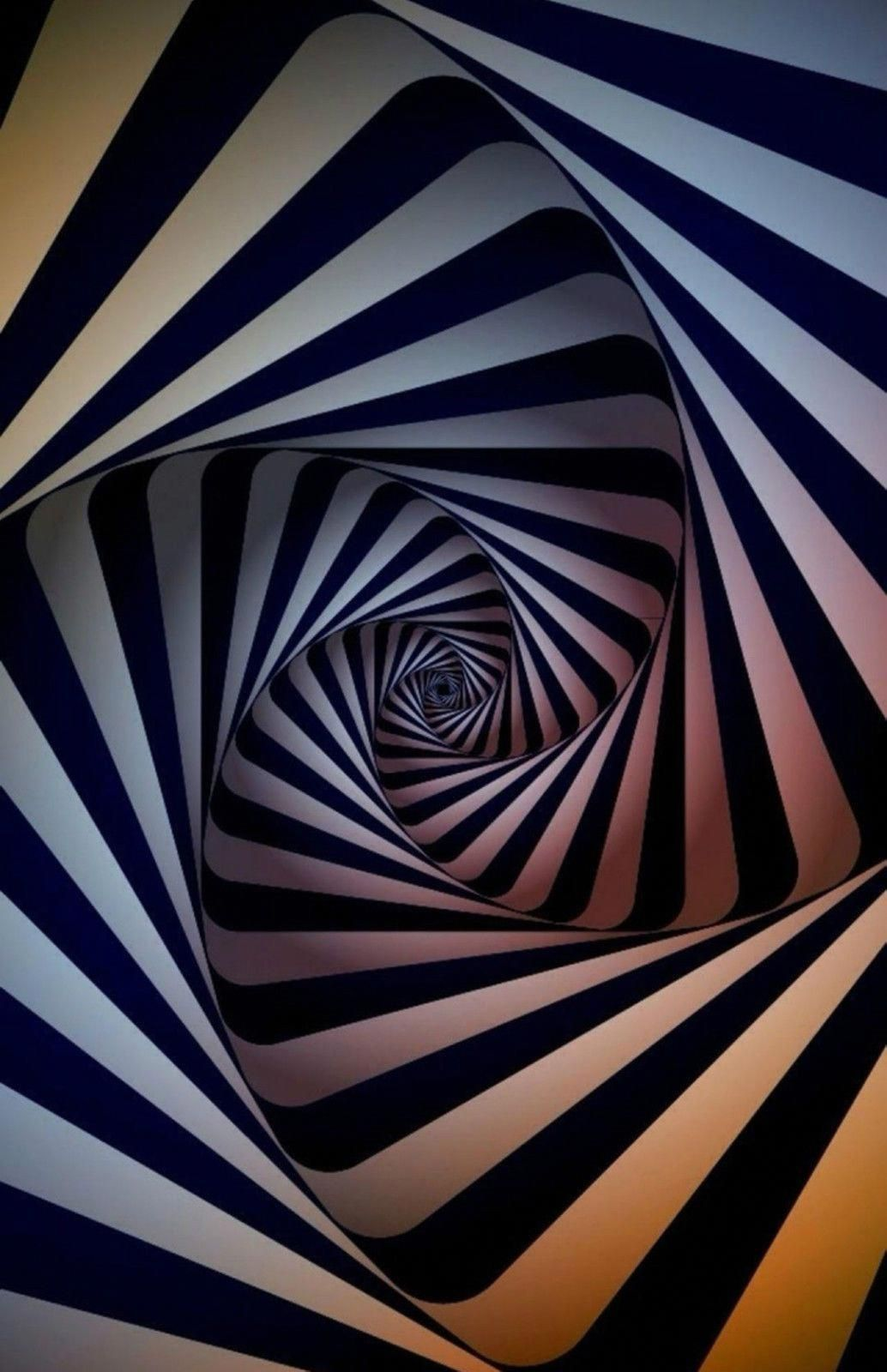 Framed Print Colourful Spiral Hole Poster Picture Optical Illusion Art 3dprinterlessons Optical Illusions Art 3d Wallpaper Iphone Iphone 6 Plus Wallpaper