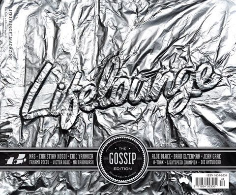 Lifelounge Magazine 14, The Gossip Edition cover preview | Art & Design | Lifelounge