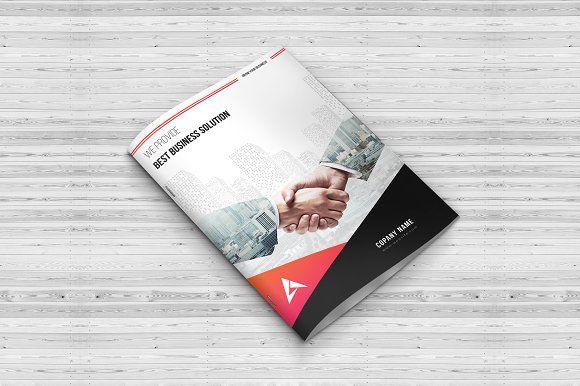 Corporate Bi Fold Brochure by Imagine Design Studio on