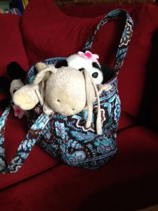 Friday's Photo Finish and How To Become A Bag Lady