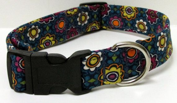 Jenni from the block Handmade Dog Collar by GoneDoggie on Etsy
