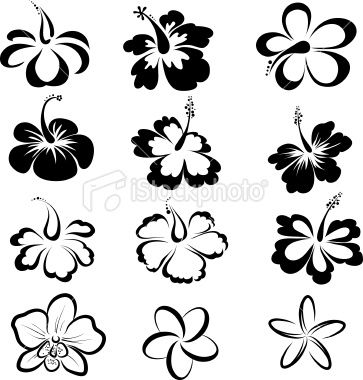 File Thumbview Approve Php Size 1 Id 23659239 Tropical Flower Tattoos Violet Flower Tattoos Hawaiian Flower Tattoos