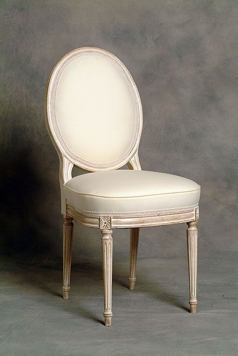 Small French Dining Chairs  Small Oval Back French Dining