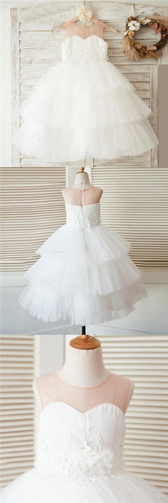 Unique new design baby fashion tulle lovely cutest wedding flower