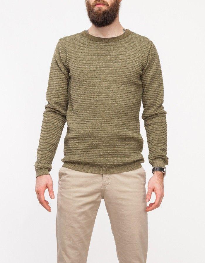 Valid Sweater in Safari Green