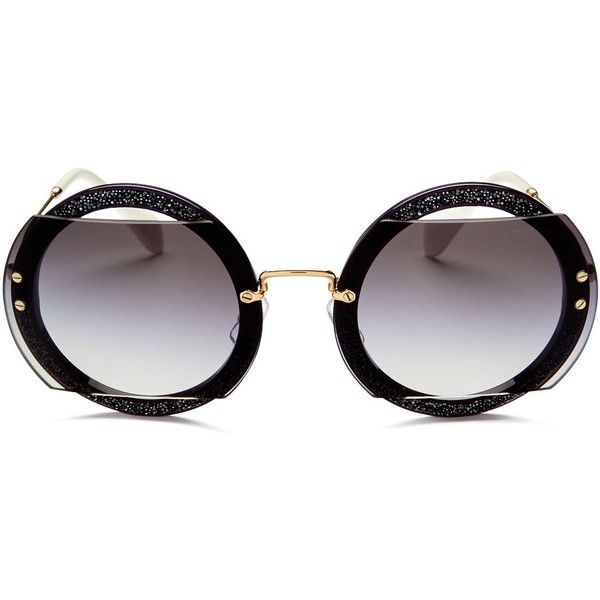 c0750197497 Miu Miu Reveal Evolution Oversized Round Sunglasses
