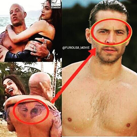 Love This Tattoo Vin Diesel May Have Just Revealed His New Tattoo