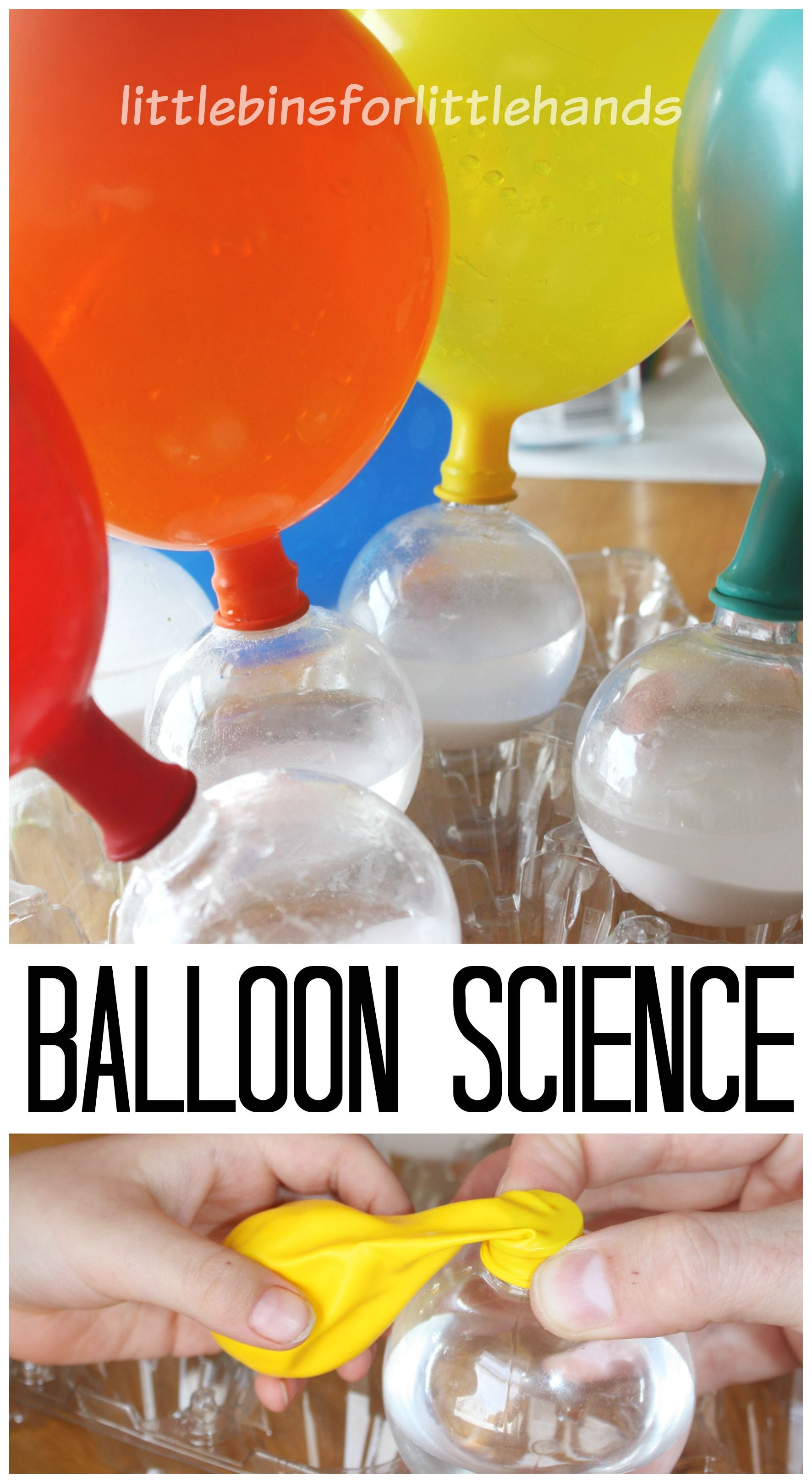 Baking Soda And Vinegar Balloon Experiment For Kids