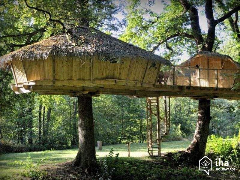 Baumhaus Frankreich zu vermieten chassey lès montbozon frankreich baumhaus entdecken
