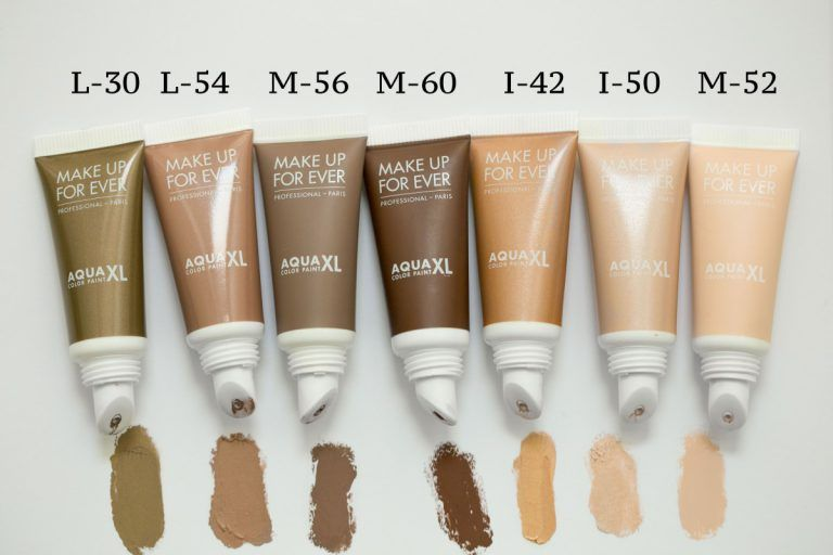 Make Up For Ever Aqua Xl Color Paint Swatch Aqua Paint Make Up For Ever Cream Shadows