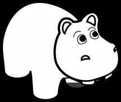 Png Free Stock Hippo Clipart Line Art Black White Panda Free Line Art Vector Line Art Art