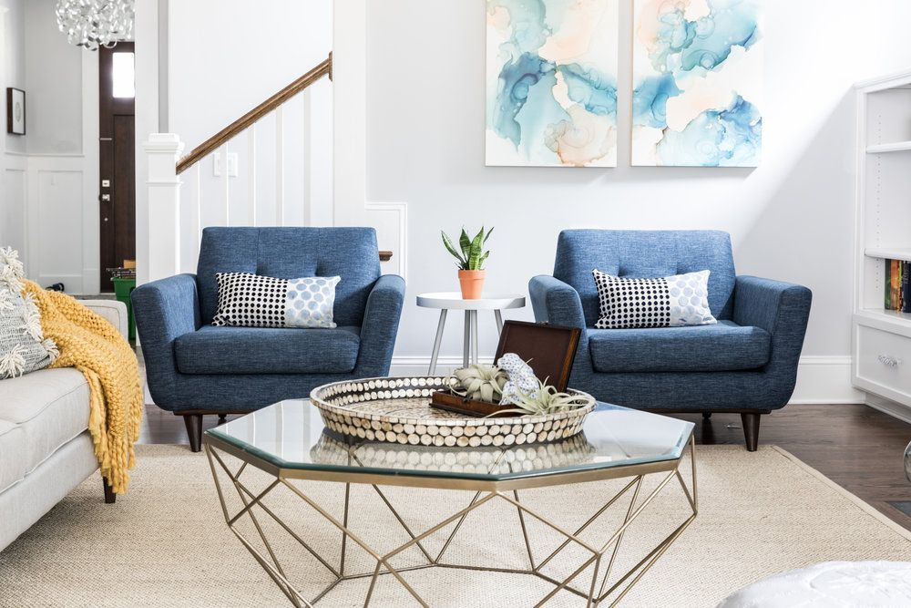 29 Blue Living Rooms Made For Relaxing | Blue living room ...