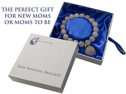 Rose Quartz Baby Bonding Bracelet | Nursing Bracelet for Breastfeeding Easy Mom and Baby http://www.amazon.com/dp/B00ON0QV8S/ref=cm_sw_r_pi_dp_zlj8ub1EYM7JW