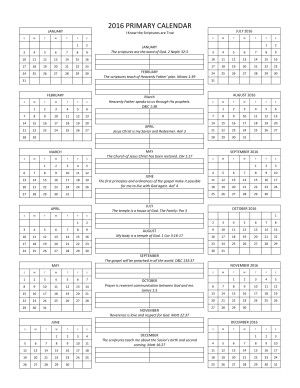 Microsoft Word - 2016 Primary Calendar.docx