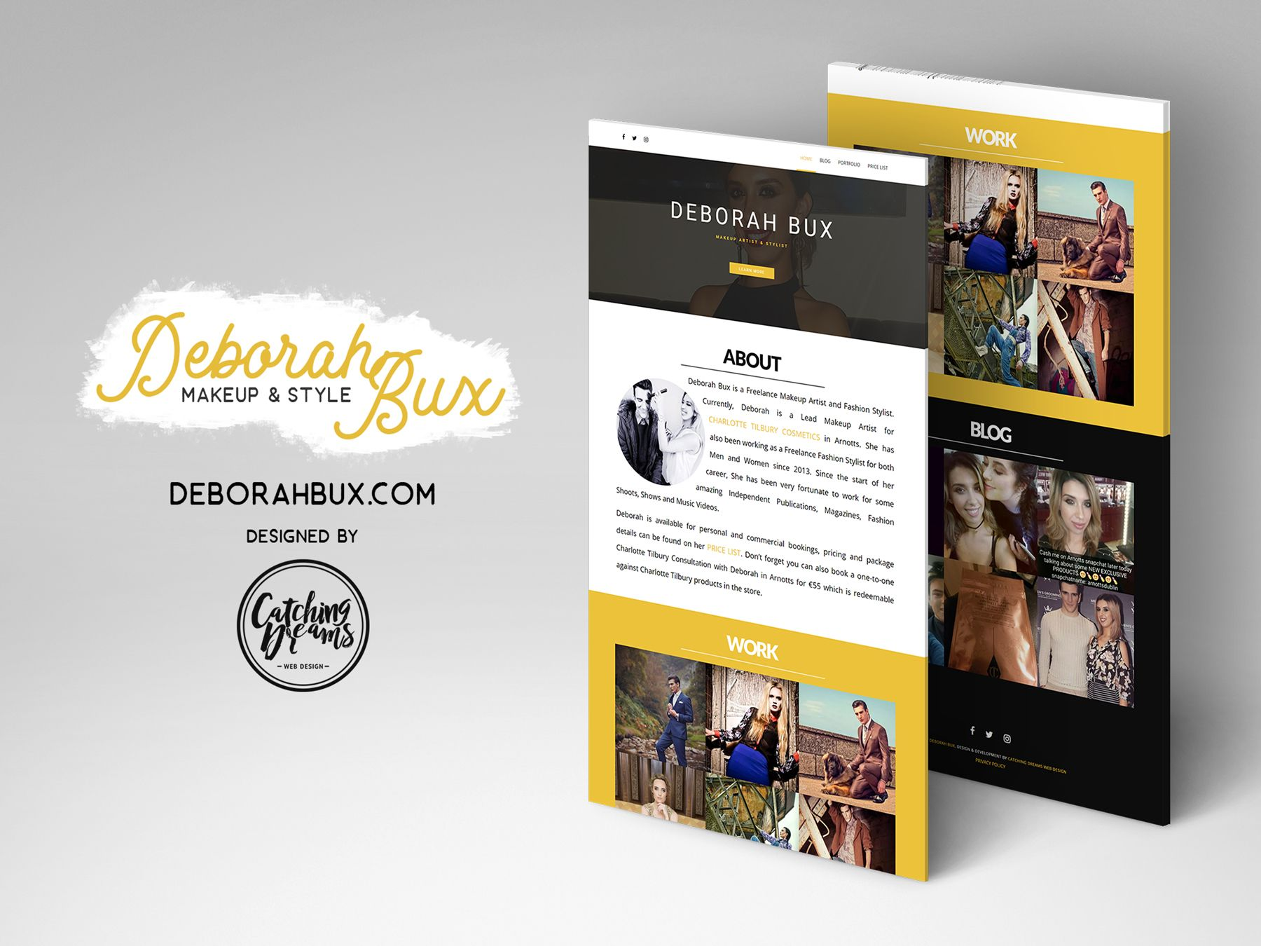 Deborah Bux Blog Website Design Web Design Website Design