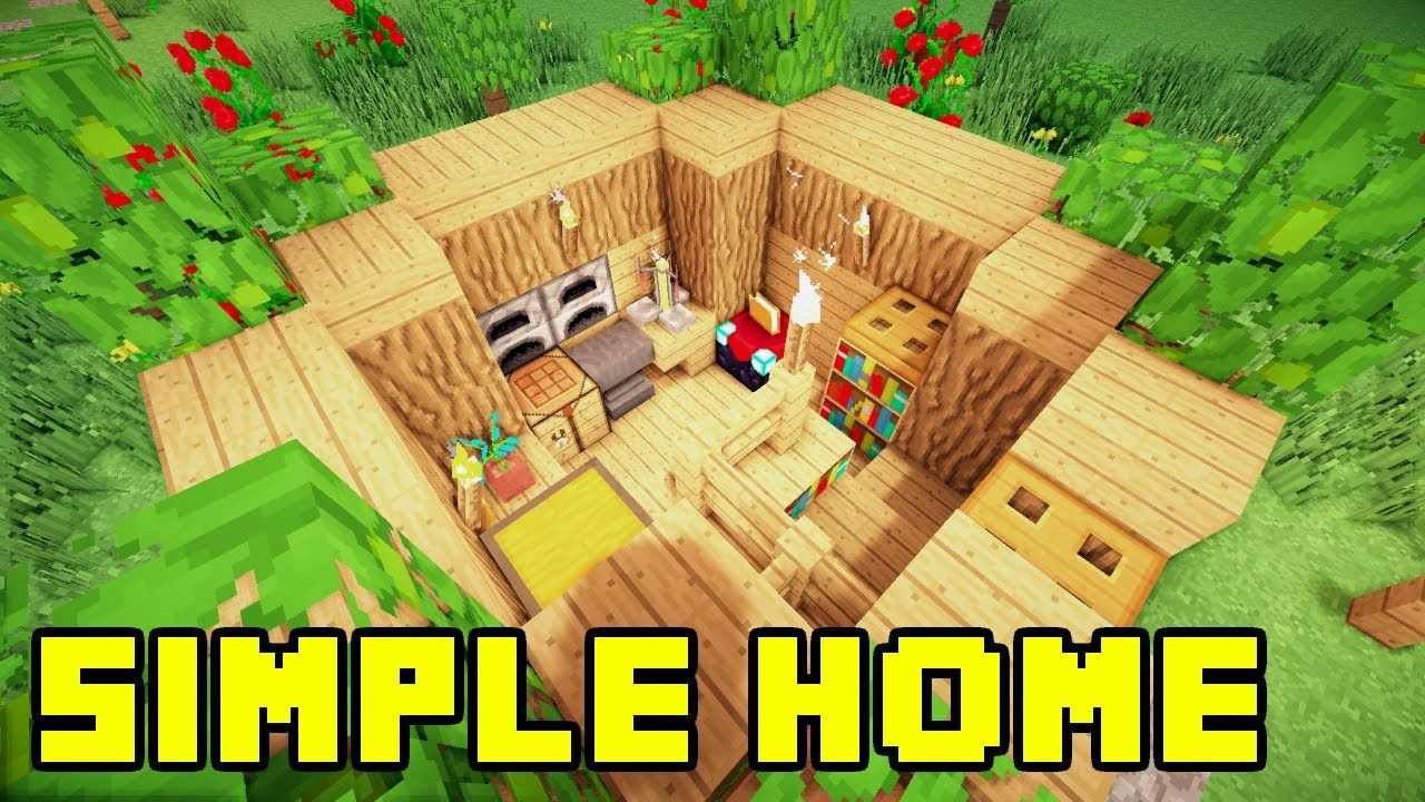 Minecraft Easy Simple Survival House Base Home Build Tutorial Xbox Pe Ps3 Pc Minecraft Tutorial Minecraft House Designs Minecraft Blueprints
