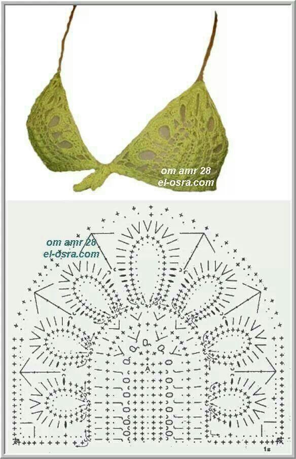 ♥verde aceituna | Patrones de ganchillo | Croché, Ganchillo y ...