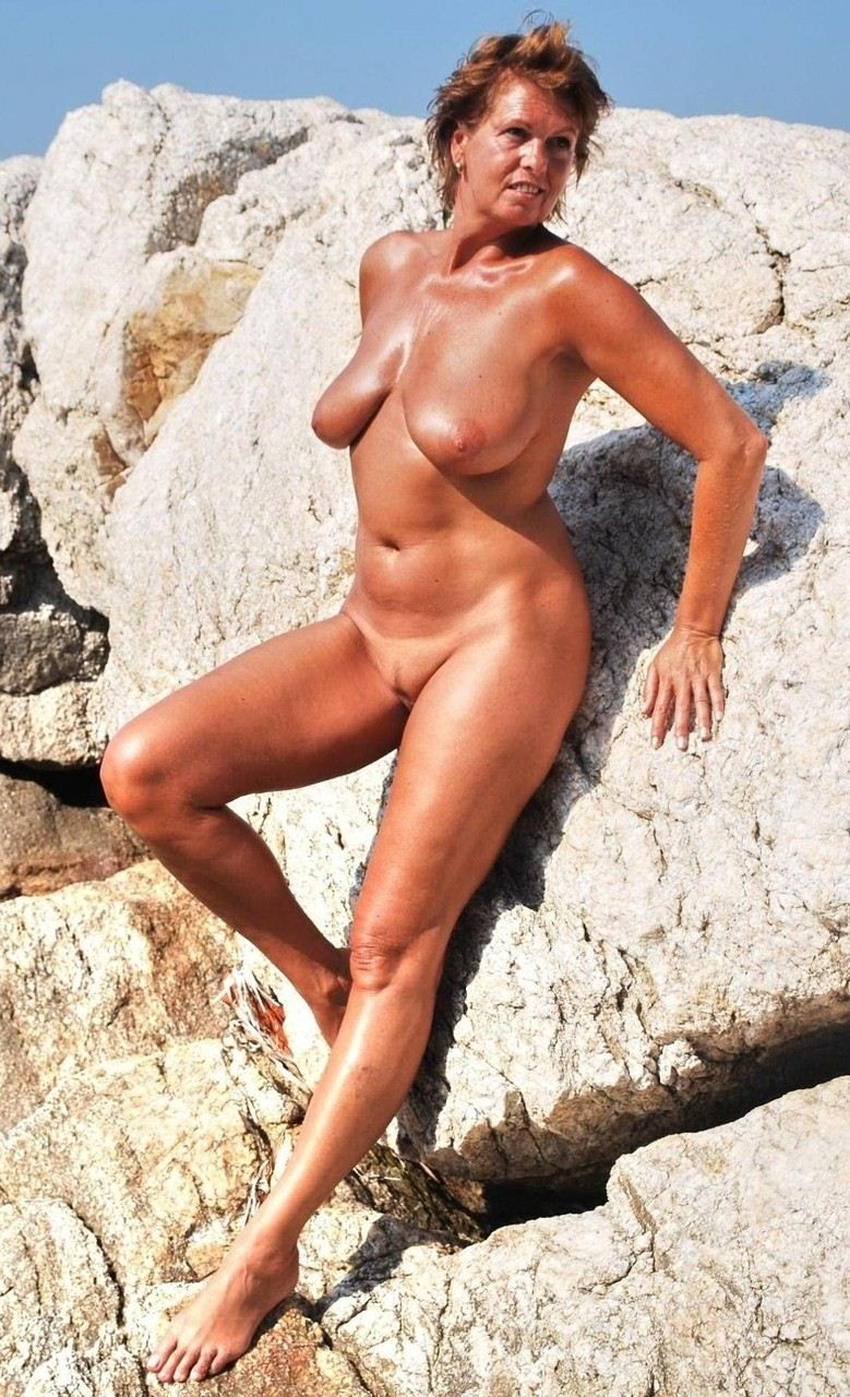 Mature nude of day