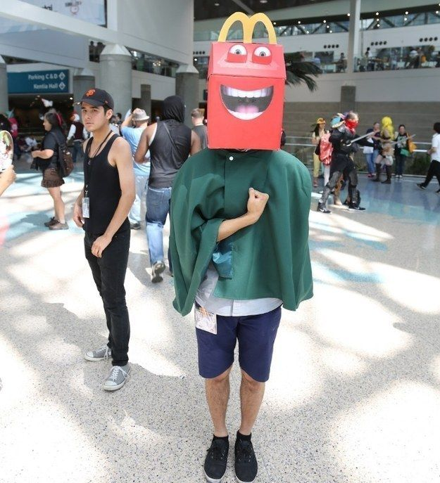 This Is Officially The Creepiest Costume At Anime Expo