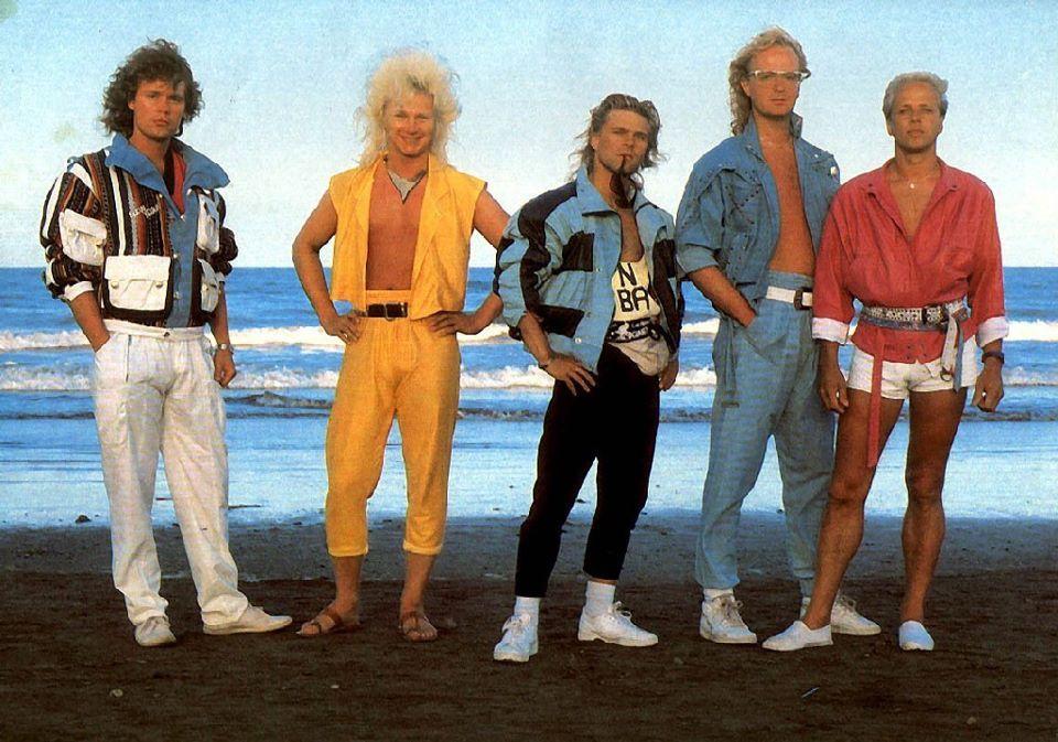 Les 40 pires photos de groupe de musique | Mode des années ...