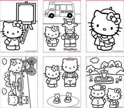 top 5 sites of free printable hello kitty coloring pages for kids printables pinterest coloring for kids and coloring pages for kids