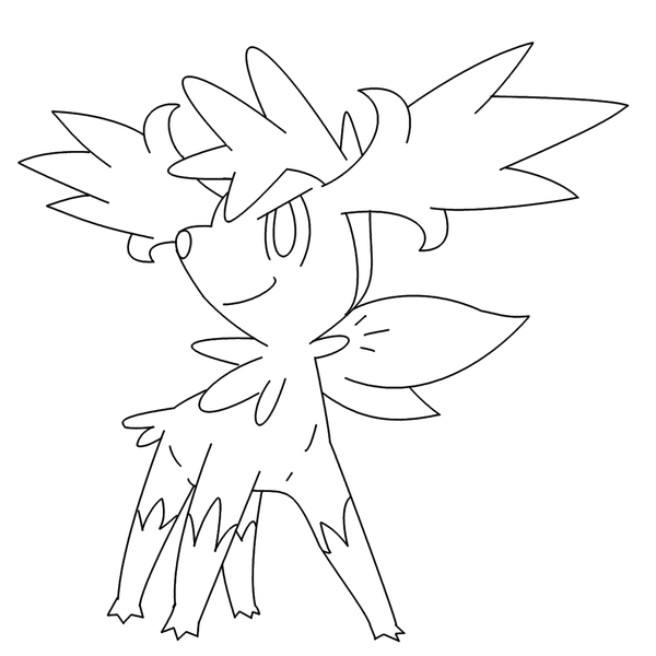Free Shaymin Fly form Template by BehindClosedEyes00 on DeviantArt ...