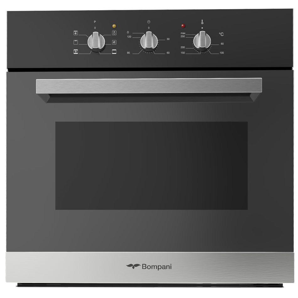 Bompani Bo247sl E Italia Built In Oven Cm 60 Inox Black Glass