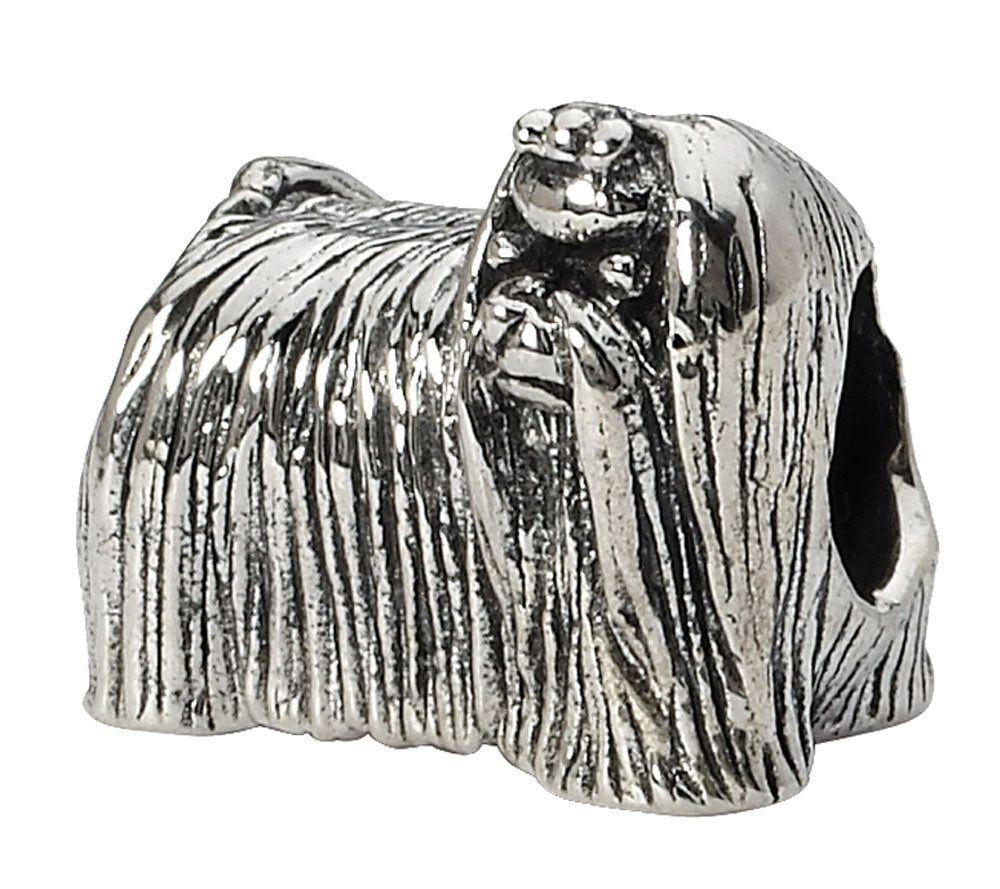 Prerogatives Sterling Maltese Dog Bead | $30.00 #Jewelry #Shine #Sparkle #Bling | Visit WISHCLOUDS.COM for more…