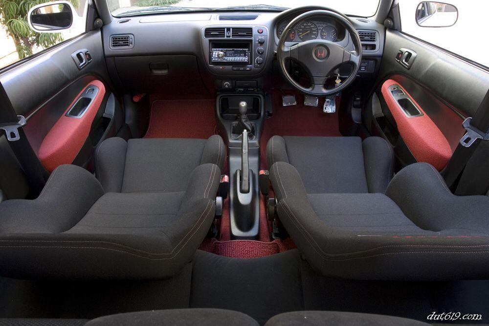 Ek9 Interior Honda Civic Ex Civic Hatchback Honda Civic Sedan