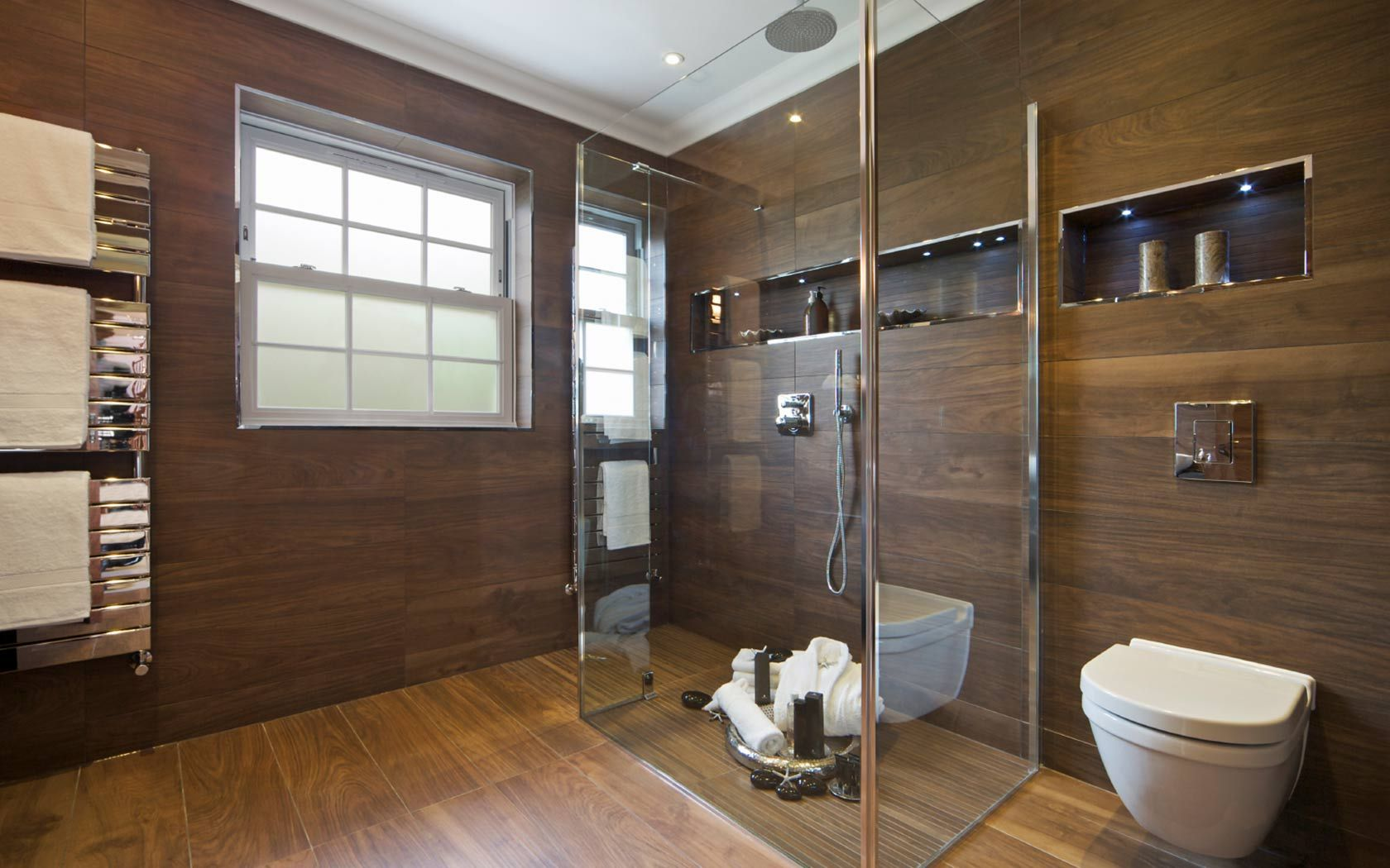 Sustainable #bathroomdesign ideas - Ways to lower your bathroom's environmental impac