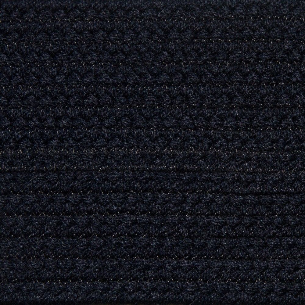 Colonial Braided Rug Co - Solid Navy Braided Rug, $59.70 (http://www.colonialrug.com/solid-navy-braided-rug/)