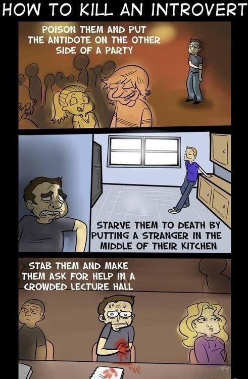 how to kill an introvert
