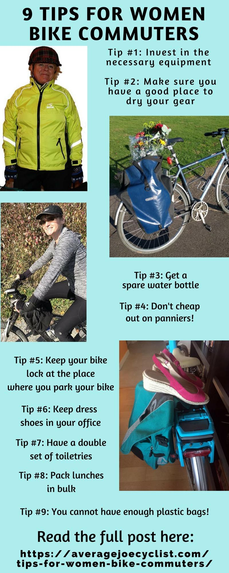 9 Useful Tips For Women Bike Commuters Commuter Bike Womens