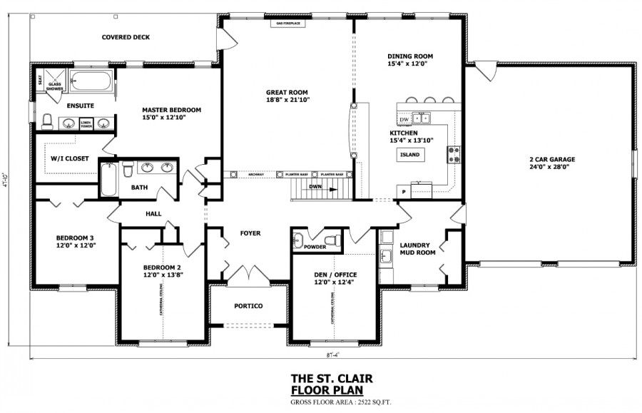 Canadian Home Designs - Custom House Plans, Stock House Plans