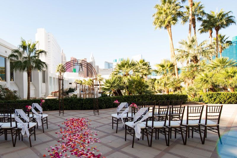 This Private Terrace Boasts Brilliant Views Of The Las Vegas Strip And Its Iconic Skyline With New York Focal Point Directly Behind