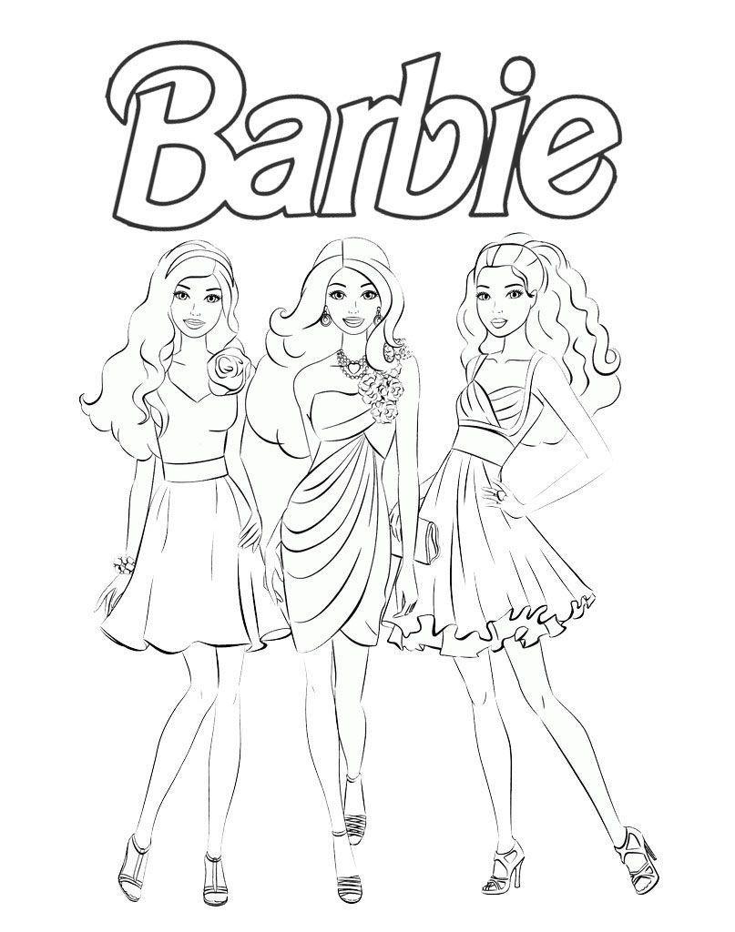 Lalki Barbie Kolorowanki Dla Dziewczynek In 2020 Humanoid Sketch Art