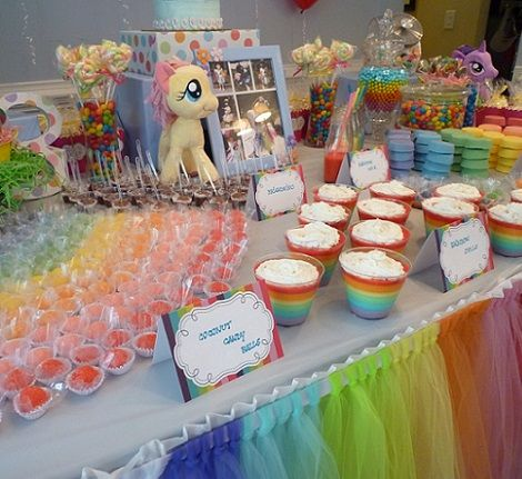 iesta de cumpleaños my little pony | Party ideas | Pinterest ...
