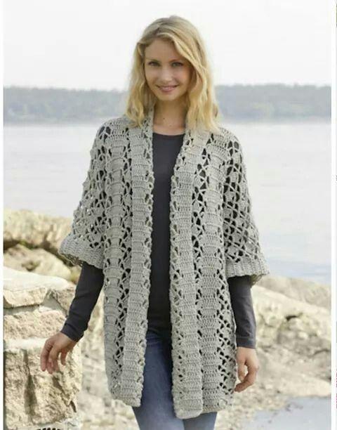 Grijs Lg Vest Haken связанные крючком топы Pinterest Crochet