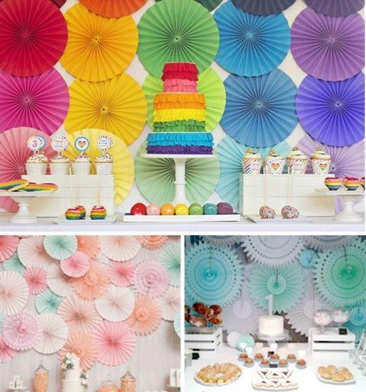 Decoracion fiesta infantil abanicos 2 las mejores ideas for Ideas decoracion fiesta
