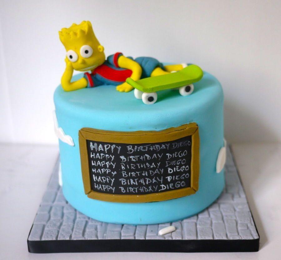 Wondrous Pin Op Birthday Cake Design Ideas Personalised Birthday Cards Veneteletsinfo