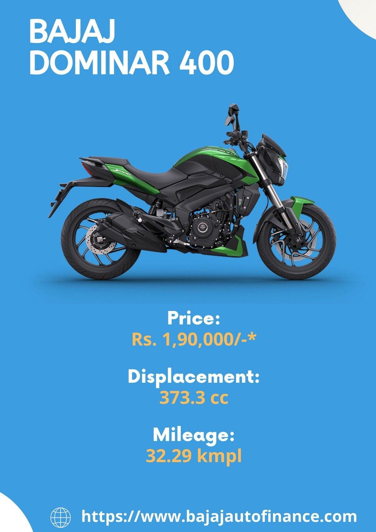 Bajaj Dominar 400 Price Mileage Other Specifications In 2020
