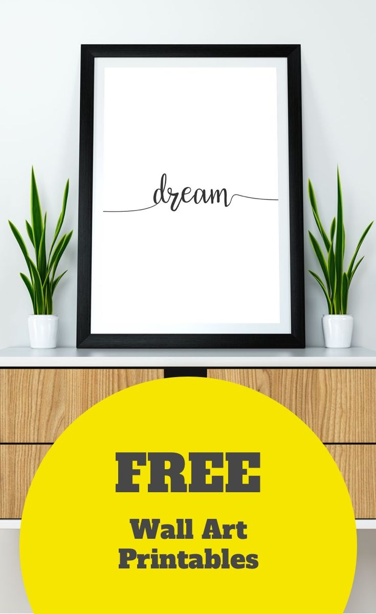 10 Modern Wall Art Printables To Make Your Home Super Chic ...