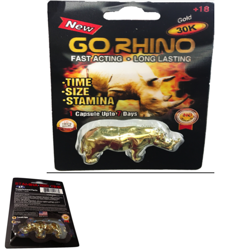 Go Rhino 30 K Gold EditionTimeSizeStaminaLast Longer