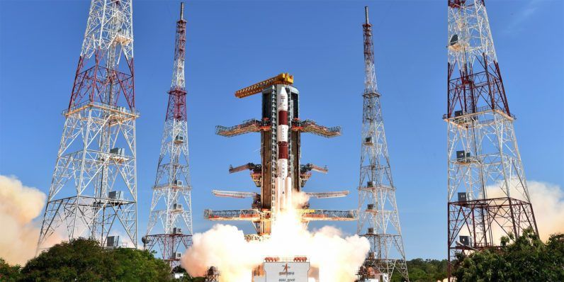 India Just Broke A World Record By Launching 104 Satellites Tech News Indian Space Research Organisation Remote Sensing Space Program