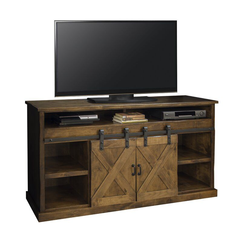 Pullman Tv Stand For Tvs Up To 70 Inches With Electric Fireplace