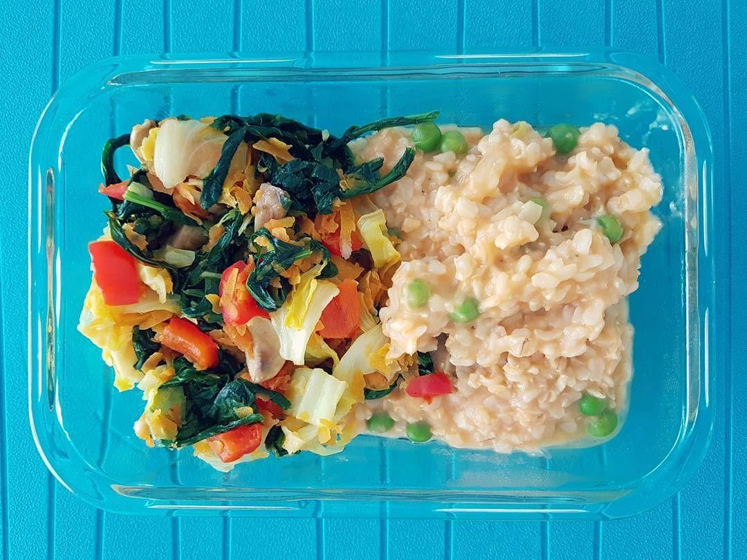 Cocinar Grelos | Arroz Integral De Coco Com Ervilhas E Legumes Salteados Os