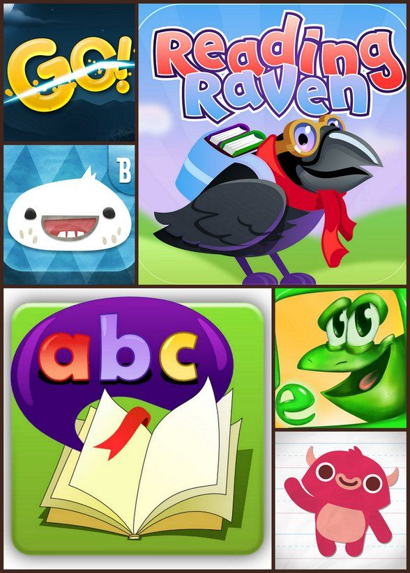 7 Kids' iPhone and Android Apps to Build Literacy in