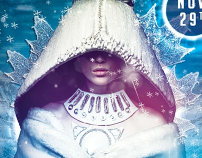 Check Out New Work On My Behance Portfolio Winter Electro Flyer